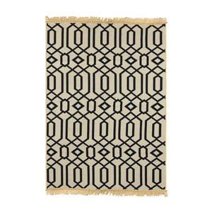 Granatowy dywan Floorist Kenar Dark Blue, 60x90 cm