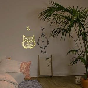 Naklejka dekoracyjna na ścianę Bird Owl