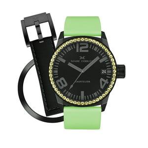 Zegarek damski Marc Coblen z dodatkowym paskiem i obręczą P105