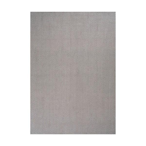 Jutowy dywan Mendoza Grey, 200x300 cm