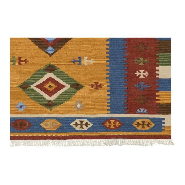 Ręcznie tkany dywan Kilim Classic K12 Mix, 155x215 cm