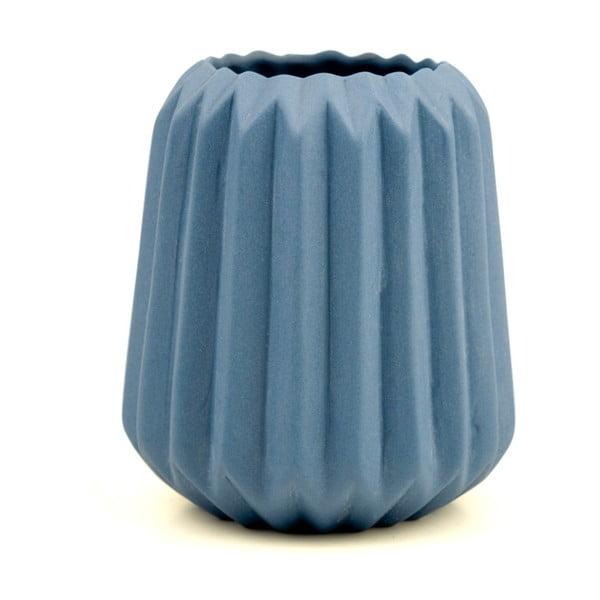 Wazon Riffle 2, niebieski