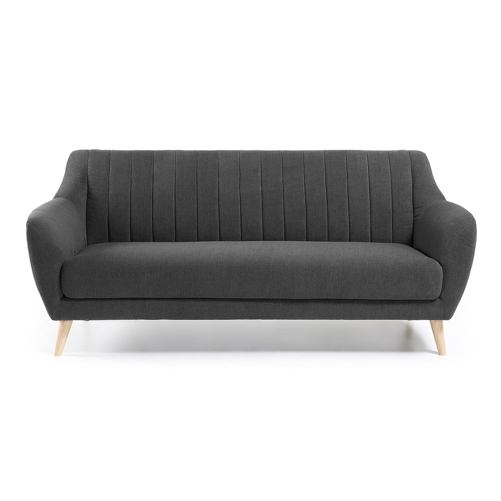 Ciemnoszara sofa La Forma Off