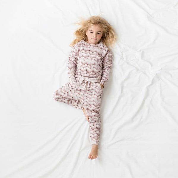 Różowa bluza dziewczęca Snurk Twirre, 116