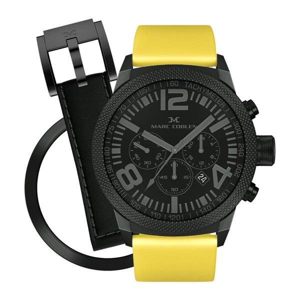 Zegarek unisex Marc Coblen z dodatkowym paskiem i obręczą P63