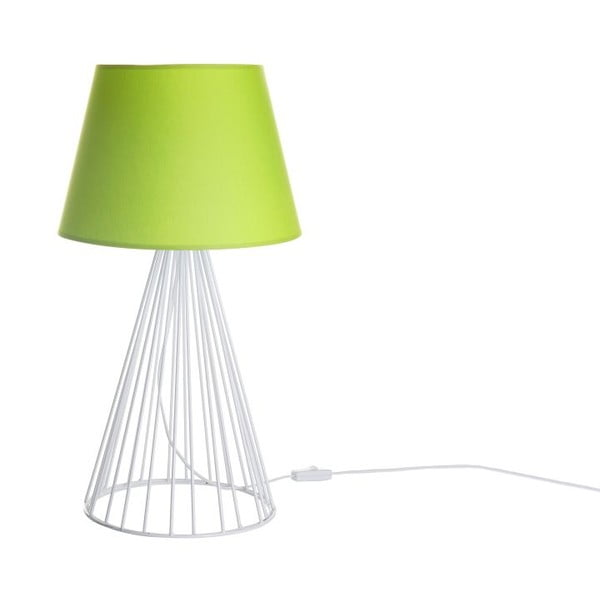 Lampa stołowa Wiry Lime/White