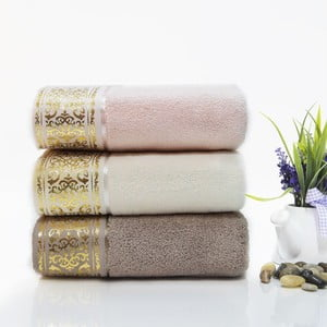 Zestaw 2 ręczników Eva, 50x90 cm