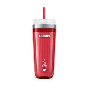 Czerwony kubek do kawy mrożonej Zoku Iced Coffee