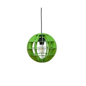 Lampa Sphera, zielona