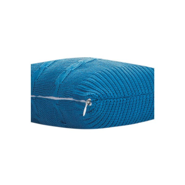 Poduszka z wypełnieniem Fancy Blue, 43x43 cm