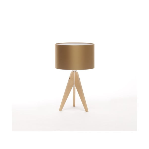 Lampa stołowa Artista Birch/Golden, 28 cm
