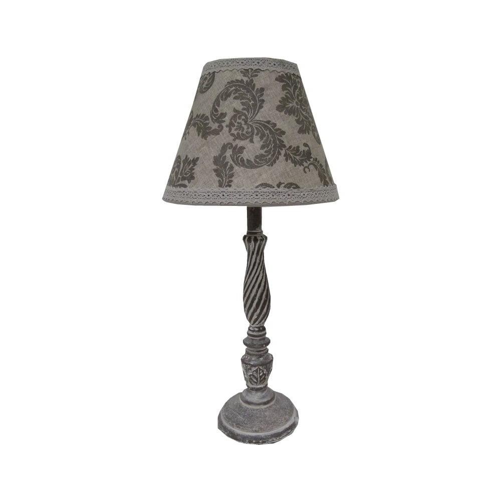Lampa stołowa Antic Line Vintage Grey