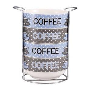 Zestaw misek Coffee ze stojakiem, 4 szt.