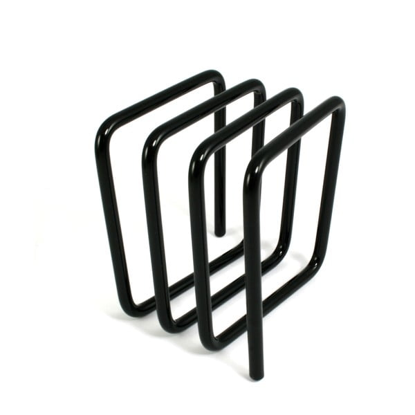 Czarny stojak na listy Letter Rack