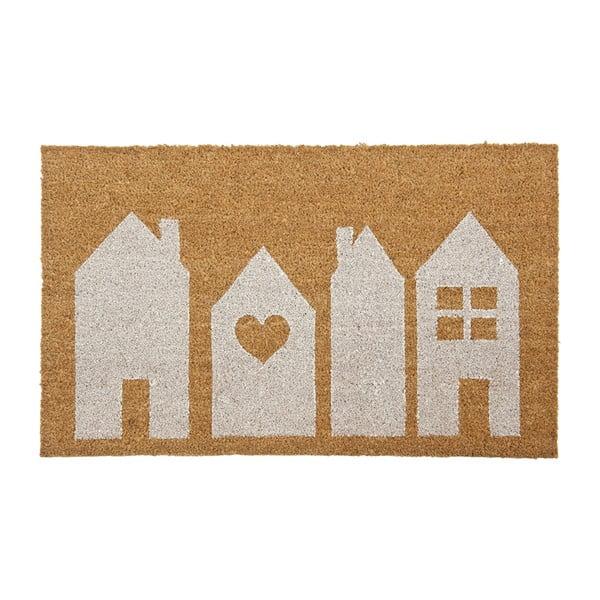Wycieraczka Clayre & Eef Houses, 75x45 cm