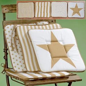 Komplet 4 poduszek na krzesła Stars