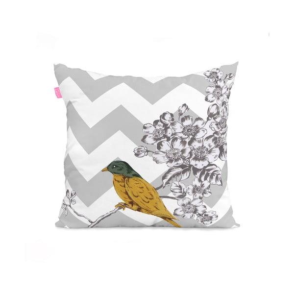 Poszewka na poduszkę Spring birds, 50x50 cm