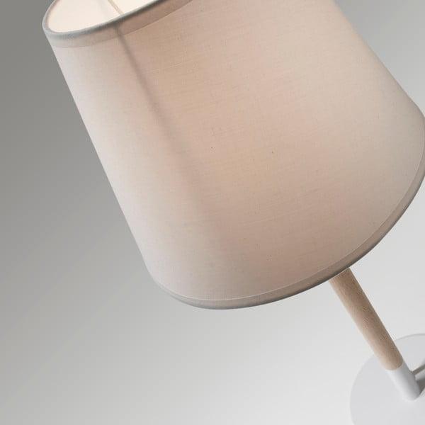 Biała lampa stołowa La Forma Moskov