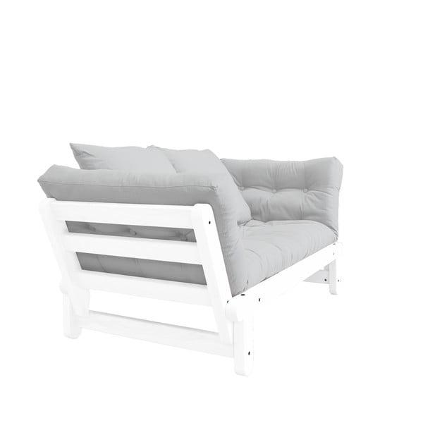 Sofa rozkładana Karup Design Beat White/Light Grey