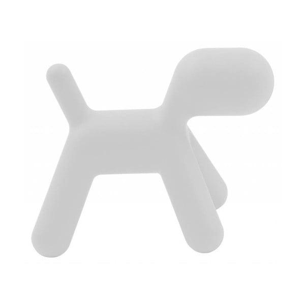 Białe krzesełko Puppy, 43 cm