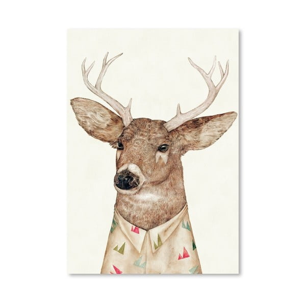 "Plakat ""White-tailed Deer"", 30x42 cm"