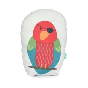 Poduszka z czystej bawełny Happynois Parrot, 40x30 cm