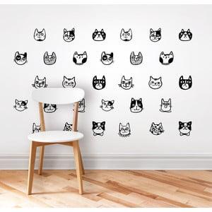 Naklejka ścienna Cats Animal, 40x65 cm