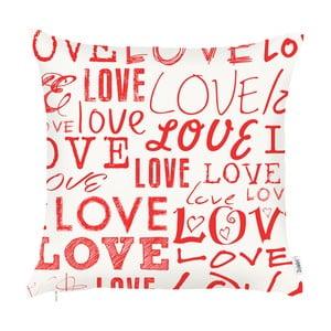 Poszewka na poduszkę Apolena Crazy In Love, 43x43 cm
