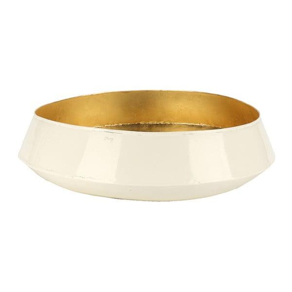 Miska dekoracyjna Versteen Glossy Cream,41cm