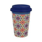 Kubek porcelanowy podróżny Duo Gift Agadir, 380 ml