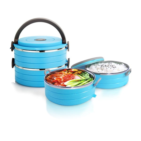 Zestaw termomisek Food Blue