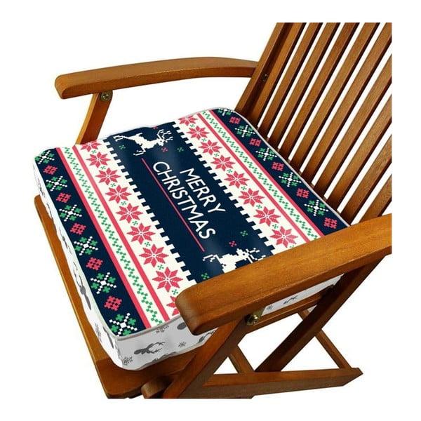 Poduszka do siedzenia Merry Christmas