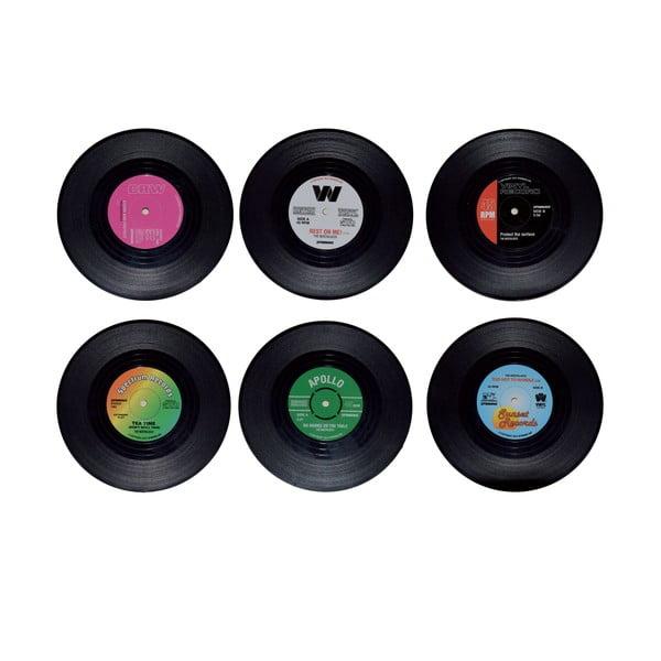 Zestaw 6 podkładek Vinyl