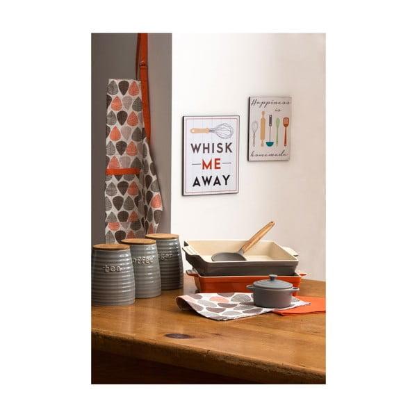 Drewniany obraz Happiness is Homemade, 20x25 cm