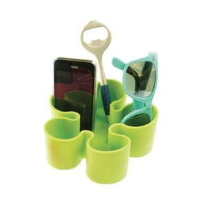 Organizer   na stół Incidence Lime Green