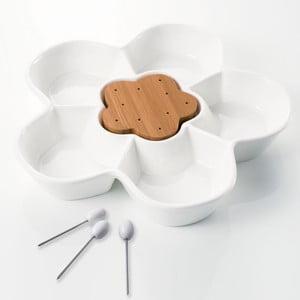 Miska do serwowania z 3 wykałaczkami Brandani Margherita