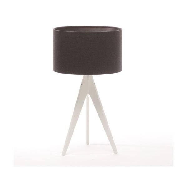 Lampa stołowa Artist Dark Grey/White