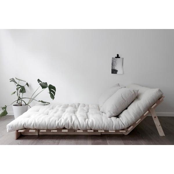 Sofa rozkładana Karup Design Roots Raw/Grey