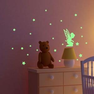 Naklejka świecąca Fanastick Fairy With Small Stars