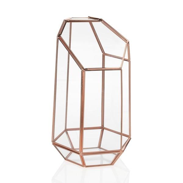 Terrarium szklane Goldie, wysokość 23,5 cm