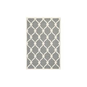 Wełniany dywan Hugo 121x182 cm, szary