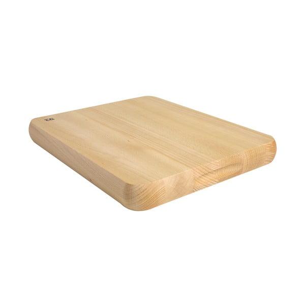 Deska do krojenia z drewna bukowego   T&G Woodware Chef's Choice, 38x30cm