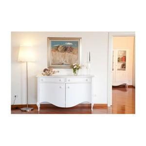Biała komoda drewniana Castagnetti Adeline