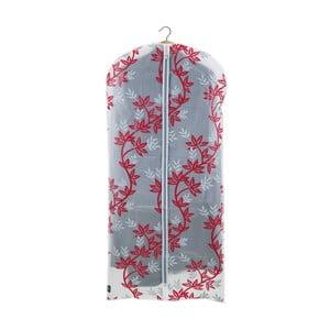 Czerwono-biały pokrowiec na sukienkę Domopak Living