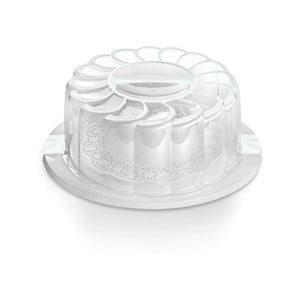 Pojemnik na tort Cake White, 28 cm