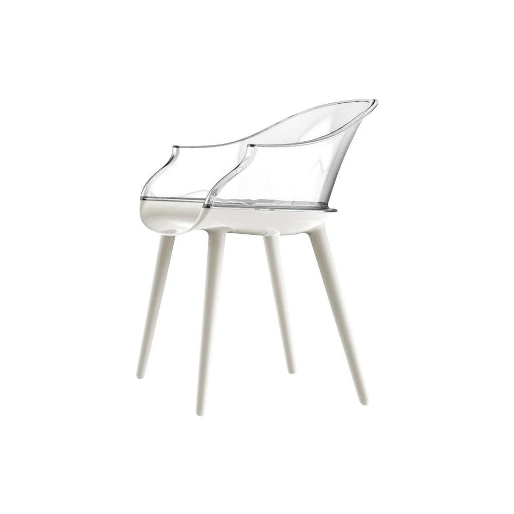 Białe krzesło Magis Cyborg