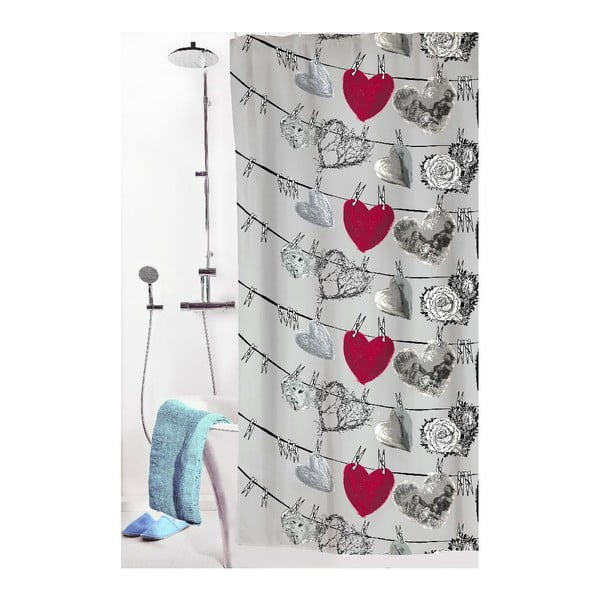 Zasłona prysznicowa Hehku, 180x200 cm