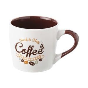 Brązowo-biały kubek kamionkowy Unimasa Coffee, 350ml