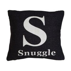 Poduszka snuggle Black, 45x45 cm