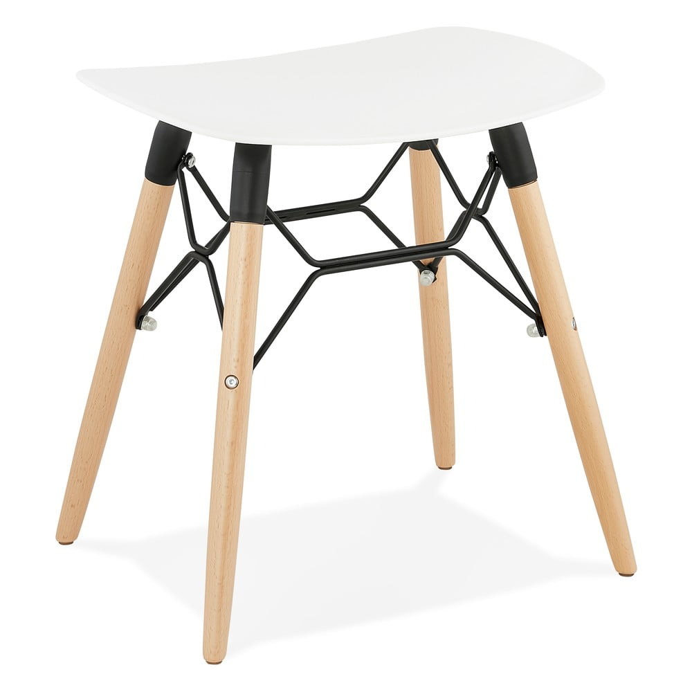 Biały stołek Kokoon Jartel
